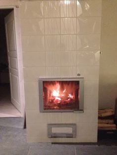 #tulikivi #fireplace #white