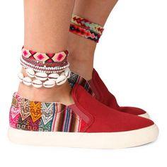 SLIPO ROJO shoes £62.91