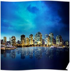 Vancouver by Night by vladthefool