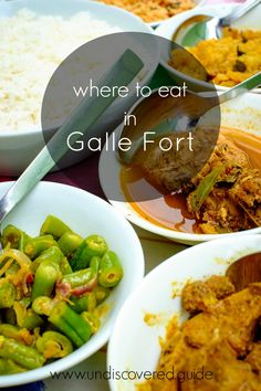 The best places to eat in Galle Fort Sri Lanka. www.undiscovered.guide