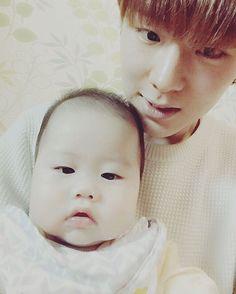 ☓ [160209] Twitter Update © Twitter | #monstax #몬스타엑스  #yookihyun #유기현 #기현 #Kihyun ♡ His niece is so cute