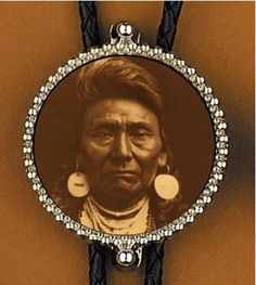 Bolos with Images of Native Americans inside.