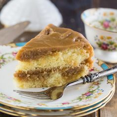 Southern Caramel Cake will make any occasion memorable. Two moist cake layers are covered with tons of sweet caramel icing.
