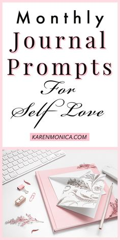 31 daily journal prompt ideas and inspirations for self love Daily Journal Prompts, Love Journal, Keeping A Journal, Journal Ideas, Learning To Love Yourself, Finding Yourself, Creative Writing Inspiration, Planner Writing, Writing Therapy