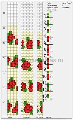 Crochet Beaded Bracelets, Bead Crochet Rope, Beaded Crafts, Bead Crochet Patterns, Peyote Patterns, Beading Patterns, Loom Bracelet Patterns, Tapestry Crochet, Loom Beading