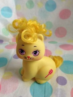 Vintage My Little Pony Little Pretty Kittie Little by rollergurl52