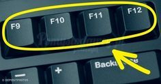 Sai a cosa servono i tasti sulla tastiera del computer? Computer Help, Best Computer, Computer Keyboard, Computer Tips, Keyboard Shortcuts, Phone Hacks, Tips & Tricks, Microsoft Excel, Things To Know