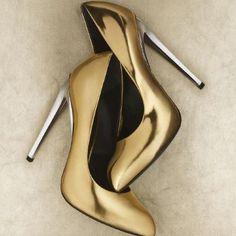 Glitter n Gold Jem shoes IRL; Giuseppe Zanotti