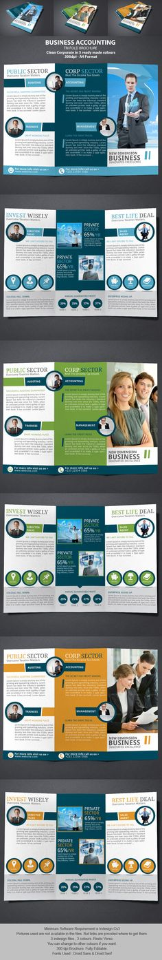 Business Accounting Brochure on Behance