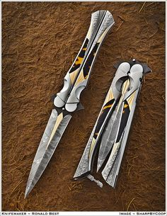 V: I would love this awesome butterfly knife for Christmas this year.