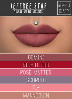 Velour Liquid Lipstick at Simpliciaty • Sims 4 Updates