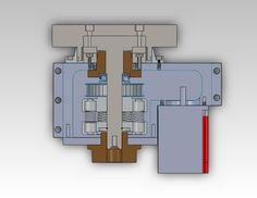 CNC Lathe Turret - STEP / IGES - 3D CAD model - GrabCAD
