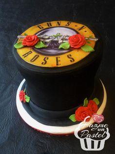 Guns and Roses cake, Galera de Slash