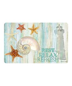 'Rest, Relax, Refresh' Mat