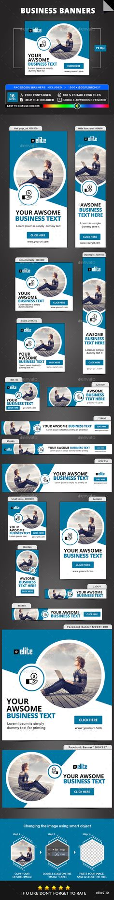 Business Banners - Banners & Ads Web Elements Download here : https://graphicriver.net/item/business-banners/19349547?s_rank=140&ref=Al-fatih