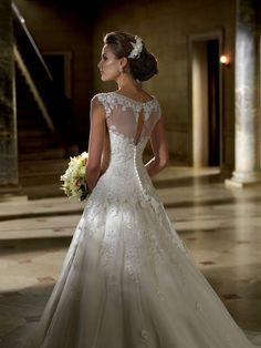 renda + voal: pretty for a garden wedding
