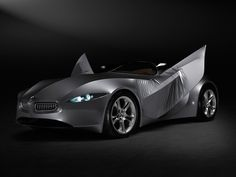 BMW GINA concept. A car covered entirely by a flexible material. It does indeed challenge the definition of the rigidly construted automobile skin.