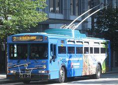 King County Metro 2001 Gillig Phantom Trolley Coach