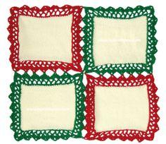 Cómo unir cuadrados con bordes a crochet para hacer manteles o caminos de mesa!