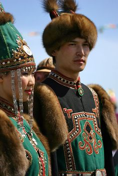 Yakutia traditional garb | Yh yakh is the Yakut New Year. It is the symbol of welcome summer and the awakening of nature.