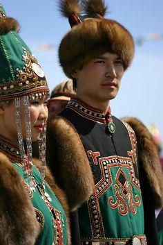 .Yakutian traditional garb.