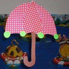 Regenschirm Kids Pages, Owl Crafts, Umbrellas, Dinosaurs, Craft Tutorials