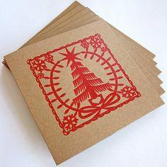 Atelier 22 Gocco Print Cards set of 6 $10
