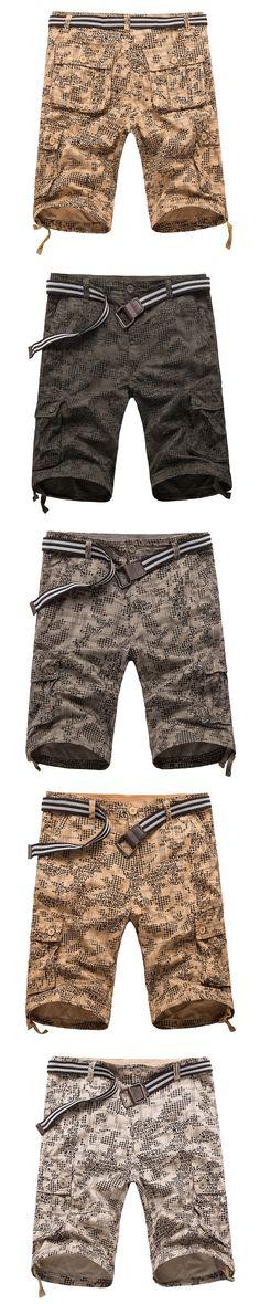 9a6df3b937 MISNIKI High Quality Cotton Cargo Shorts Men Casual Slim Multi-pocket  Military Shorts Mens   Shorts   Pinterest   Military shorts, Short men and  Cargo short