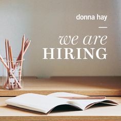 donna hay have an opportunity for an enthusiastic individual to join their creative team as an intern, two days a week for three months.