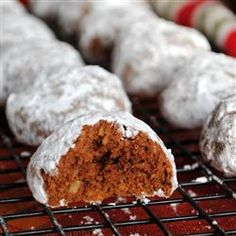 """Chocolate Pecan Sandies   """"Delicious! Perfect change from making regular pecan sandies. One of the first cookies to go around the holidays."""""""