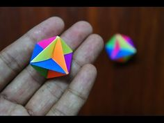 Modular Origami - How to make Modular Spinner Origami (Reuploaded) - YouTube