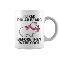 I Liked Polar Bears 2 Hot Mugs  coffee mug, papa mug, cool mugs, funny coffee mugs, coffee mug funny, mug gift, #mugs #ideas #gift #mugcoffee #coolmug