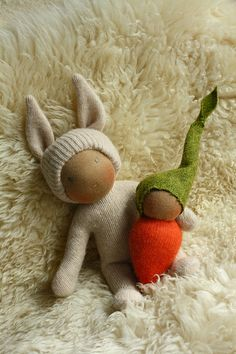 Carrot babies by Fig & Me, via Flickr