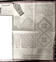 Bilderesultat for sticka rallarvante Knitted Mittens Pattern, Fair Isle Knitting Patterns, Knit Mittens, Mitten Gloves, Crochet Patterns, Old Symbols, Wrist Warmers, Textiles, Fair Isles