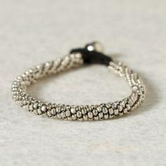 Terrain Beaded Rope Bracelet  #shopterrain