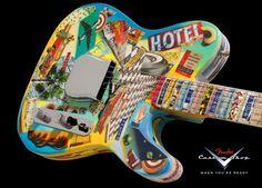 A nice tele from Fender Custom Shop
