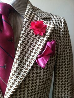 Patterns of Confidence: Houndstooth Jacket