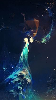 A collection of Jelsa fan art featuring Frozen& Queen Elsa and Rise of the Guardians& Jack Frost. Disney Fan Art, Disney Pixar, Disney E Dreamworks, Disney Animation, Disney Magic, Disney Frozen, Disney Movies, Elsa Frozen, Punk Disney