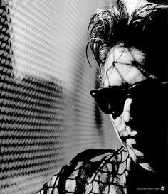 Alan Wilder (photographed by Anton Corbijn)