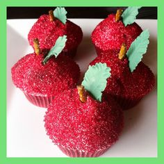 Apple Cupcakes | Flickr - Photo Sharing!