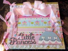 Princess Monthly Milestone Scrapbook