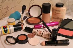 my makeup must-haves