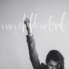 I am no longer a slave to fear, I am a child of God -Bethel Music