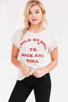 Junk Food I Sold My Soul Tee - Urban Outfitters