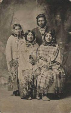 Nez Perce group - circa 1910                                                                                                                                                      More