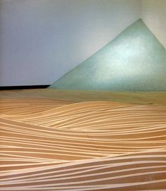 "maya lin art | Maya Lin, ""Avalanche,"" 1997. Tempered glass; 10 x 19 x 21 feet ..."