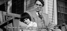 To Kill a Mockingbird. Love the book, as well.