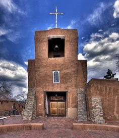 Come and visit San Miguel Mission, Santa Fe, New Mexico - claimed to be the oldest church in the US, Visit Santa Fe, rent a cozy historic adobe home intown,good winter rates,walking distance to the plaza, check it out Airbnb 2562597, Winter in New Mexico is beautiful for skiing, snow shoeing and hikes under the full moon.