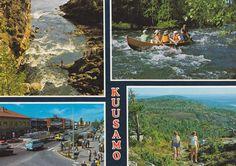 Kuva: KUUSAMO 1983. Foto: Juhani Kinnunen. Koillissanomat Oy 548. Vintage Postcards, Finland, Times Square, Album, Travel, Trips, Viajes, Traveling, Card Book