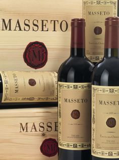 Masseto Tenuta dell'Ornellaia \\ dense and opulent with dark fruit, herbs, licorice and leather. Anticipated maturity 2018 - 2033.